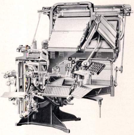 Star Base Intertype Machine
