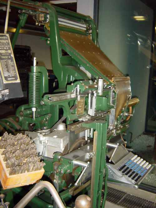 Square-Based Linotype Model 1
