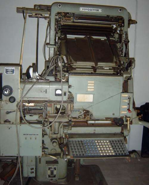 Intertype Fotosetter