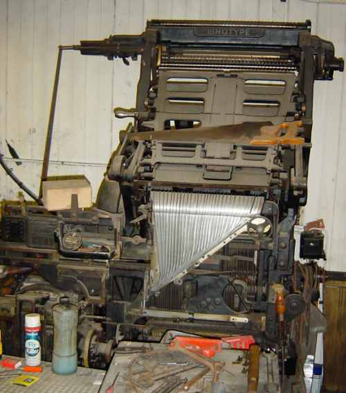 Linotype Model 48 for spares