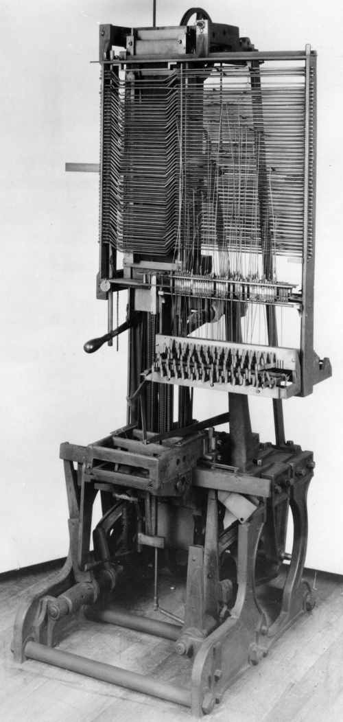 Mergenthaler's Second Band Machine 1885