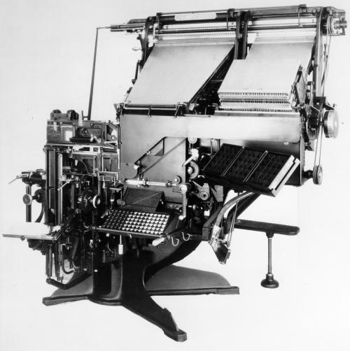 Linotype Blue Streak Model 14