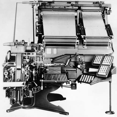 Linotype Blue Streak Model 36