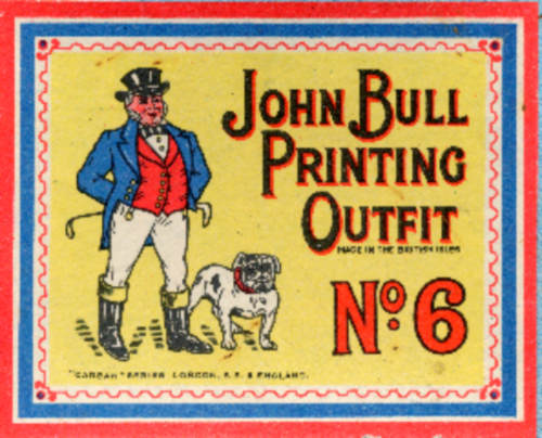 Metaltype.co.uk image of John Bull printing set