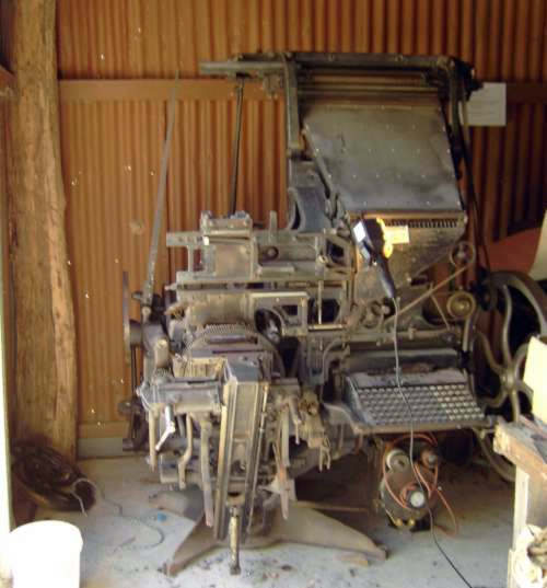Model 5 Linotype restoration project
