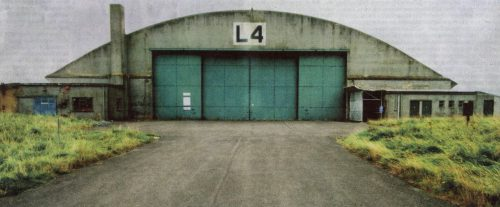 Hangar L4 at RAF Wroughton