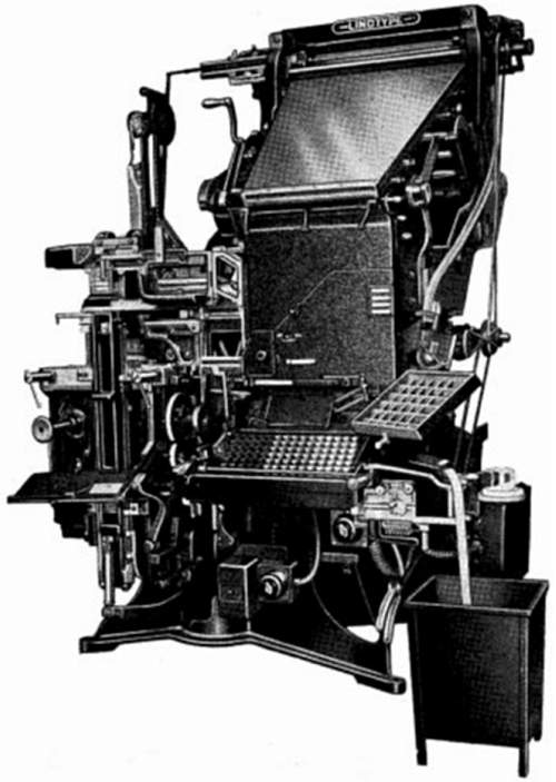 The Linotype Fleet Fifty Four