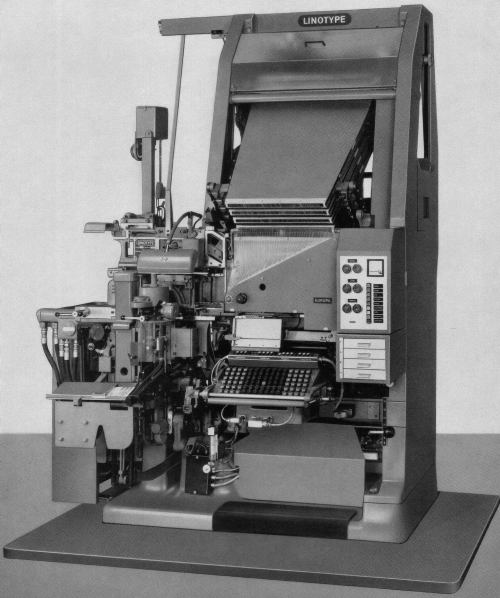 The Linotype Europa, 1966
