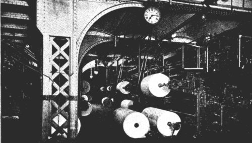 Daily Telegraph printing presses