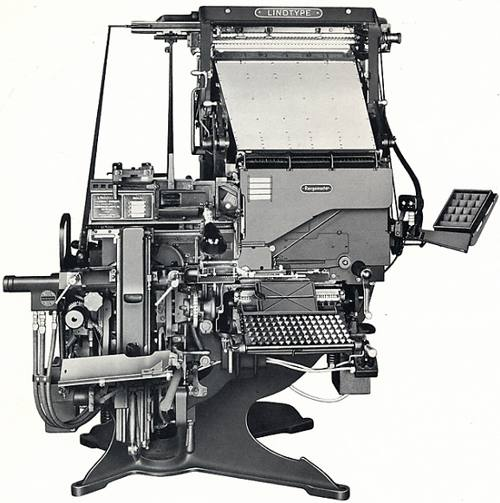The Linotype Blue Streak Rangemaster Model 33