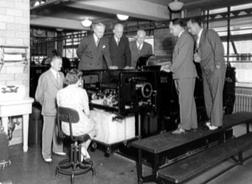 Printing Press, Bureau of Engraving and Printing, c1930