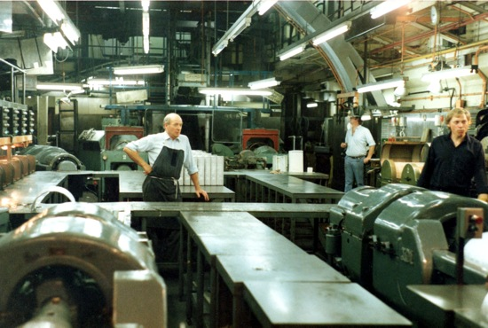 General view of the foundry