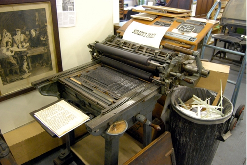 A Soldan Lightning Proof Press