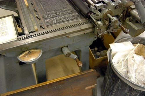 Detail of Soldan Lightning Proof Press