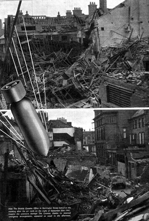 World War 2 bomb damage