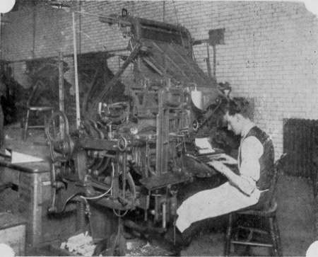 Linotype Operator, Yorkshire Post