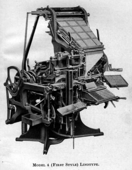 Linotype Model 4 (First Style)