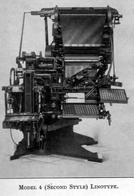 Linotype Model 4 (Second Style)